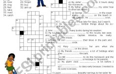 Simple Crossword Puzzles Printable Pdf