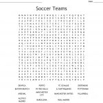 Soccer Teams Word Search   Wordmint   Printable Crossword Puzzles Soccer