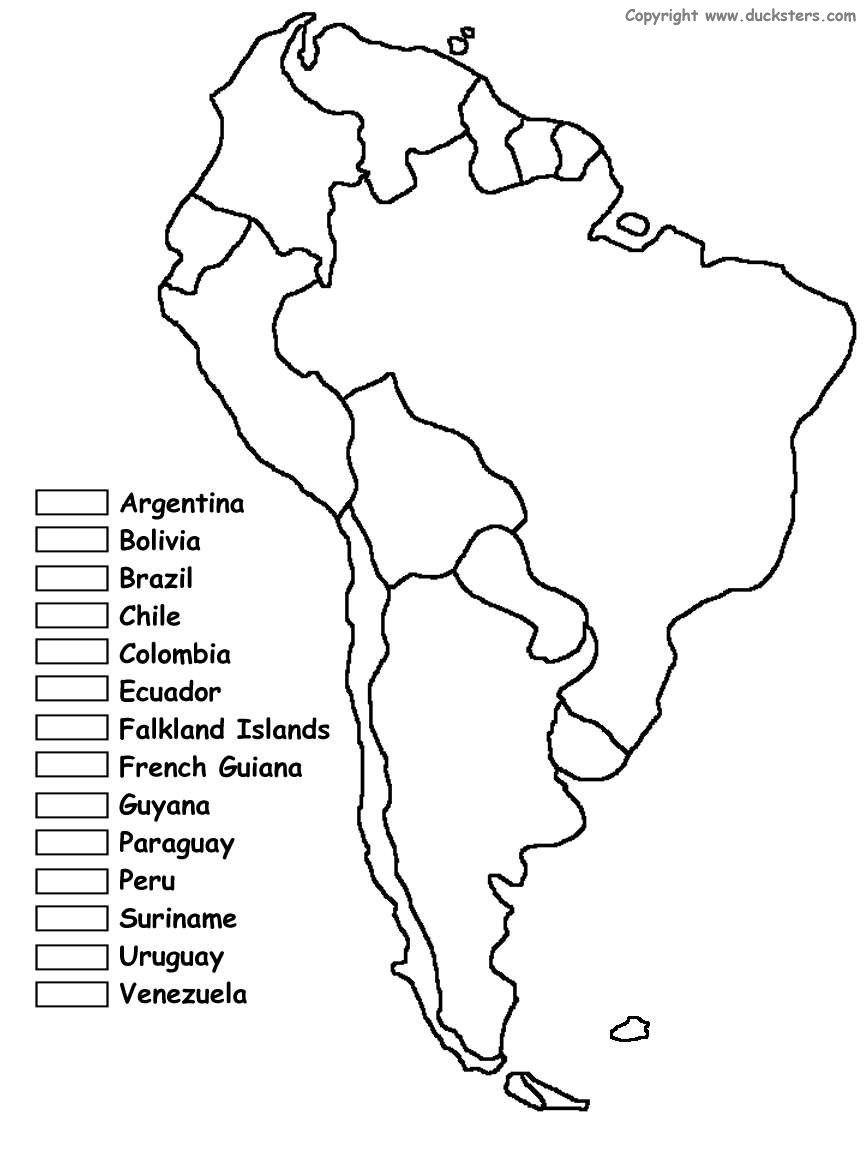 South America Unit W/ Free Printables   Homeschooling   Spanish - Printable Puzzle South America