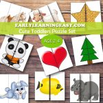 Spring Easter | Mdo 2 | Puzzles For Toddlers, Kids Education   Printable Puzzle Toddler