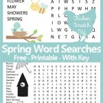 Spring Word Search – Printable Spring Puzzle