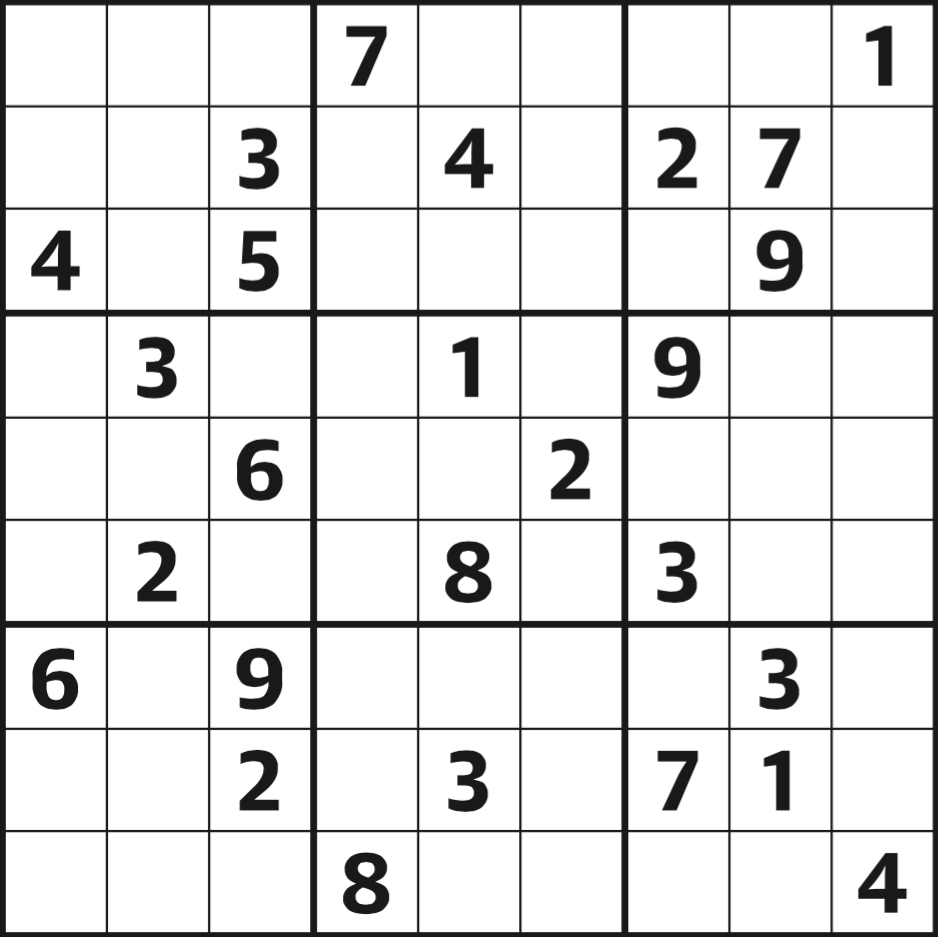 Sudoku 3961 Hard | Life And Style | The Guardian - Printable Crossword Guardian