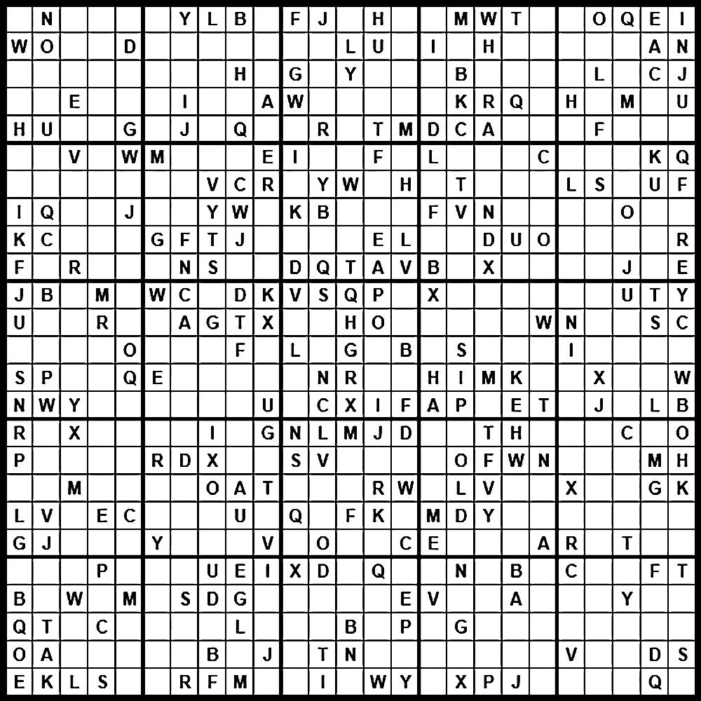 Sudoku: Einstein Level - Sudoku X Printable Puzzles
