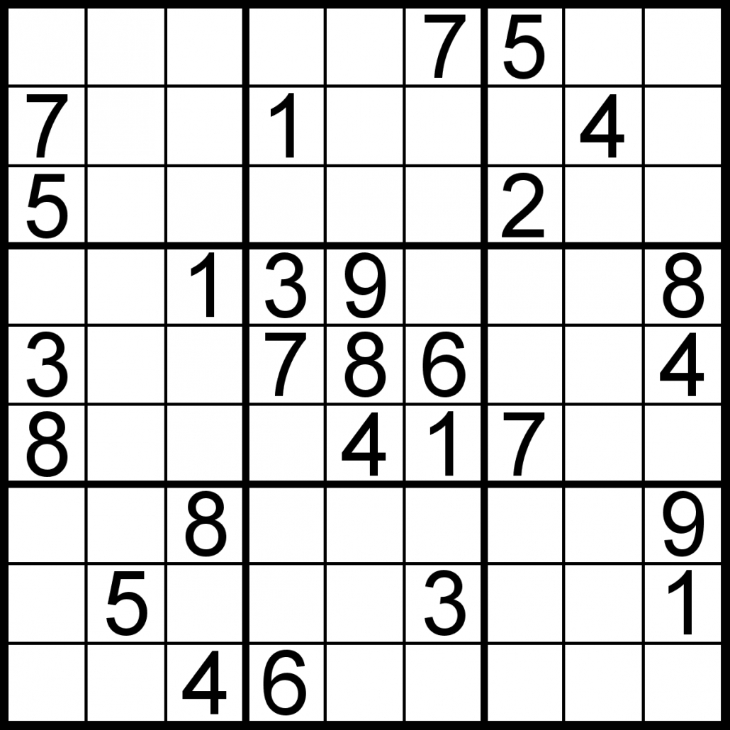 Sudoku Of The Day   Free Sudoku For Your Local Publications - 5 Star Sudoku Puzzles Printable