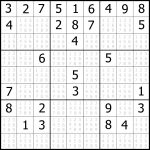 Sudoku Printable | Free, Medium, Printable Sudoku Puzzle #1 | My   Printable Sudoku Puzzle Site