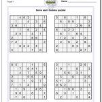 Sudoku Printable Puzzles | Ellipsis   Printable Puzzles