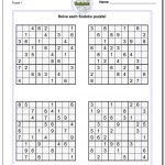 Sudoku Printable Puzzles | Ellipsis   Printable Puzzles.com Answers