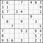 Sudoku Puzzler | Free, Printable, Updated Sudoku Puzzles With A   Printable Puzzle Sudoku