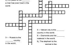 Dog Crossword Puzzle Printable