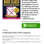 The Most Effortless Large Print Word Search Puzzles Design   Isabella   Large Print Crossword Puzzles Visually Impaired