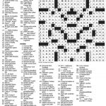 The New York Times Crossword In Gothic: October 2010   New York Times Sunday Crossword Puzzle Printable