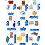 Things In The House Puzzle Game Worksheet   Free Esl Printable   Printable House Puzzle