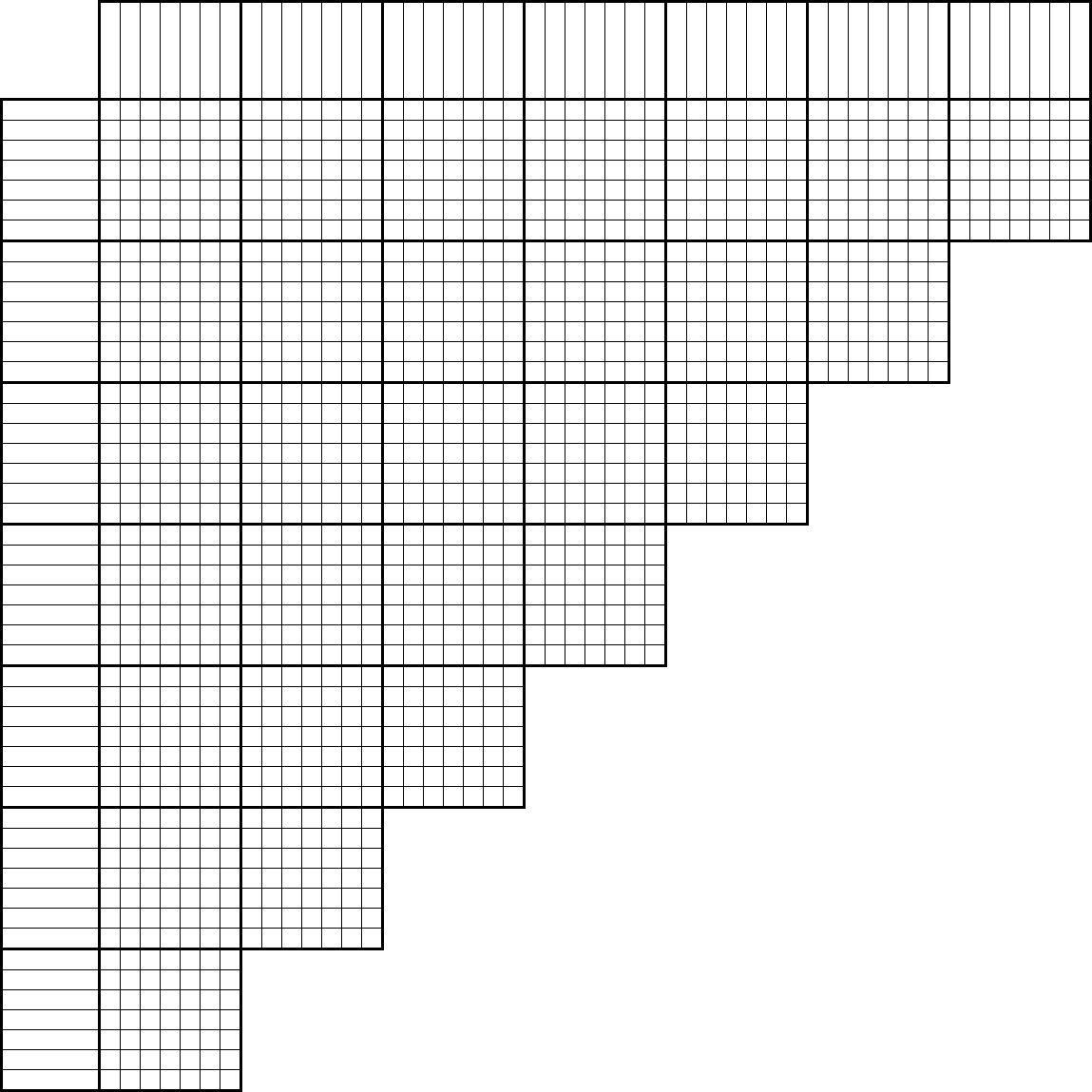 Tlstyer - Logic Puzzle Grids - Printable Logic Puzzles 4X6