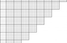Printable Puzzle Grid