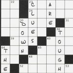 Today's Crossword Too Easy? Try Solving Down Clues Only   Wsj   Wall Street Journal Printable Crossword Puzzles