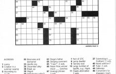 Printable Crossword Clue
