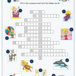 Tv Programmes Crossword Puzzle Worksheet   Free Esl Printable   Tv Show Crossword Puzzles Printable