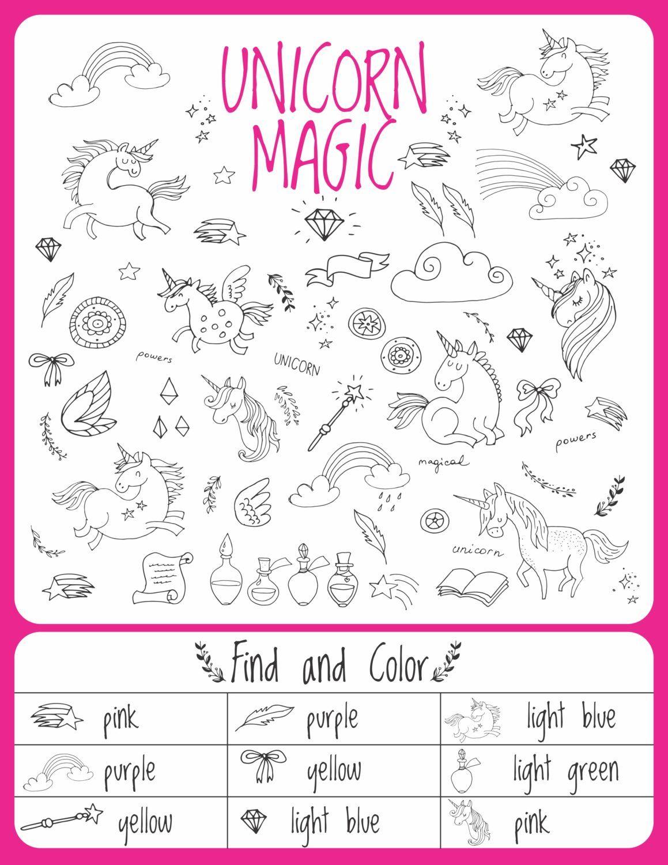 Unicorn Birthday Games Activities Puzzles In 2019 | Chloe 4Th - Printable Unicorn Puzzles
