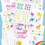 Unicorn Preschool Activity Pack   Fun With Mama   Printable Unicorn Puzzle