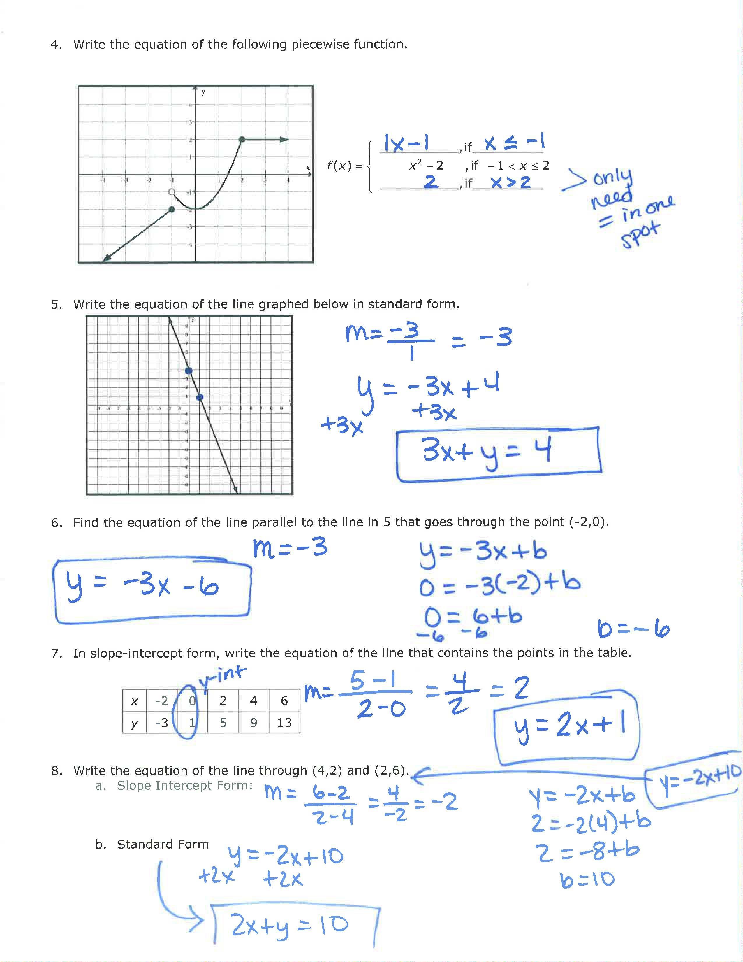 Unit 1 Page 2 Review Answers | Algebra 2 Keys | Algebra, Algebra 2 - Algebra 2 Crossword Puzzles Printable