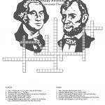 Untitled Document   Presidents Crossword Puzzle Printable