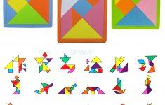 7 Piece Tangram Puzzle Printable