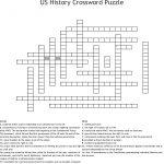 Us History Crossword Puzzle Crossword   Wordmint   Printable History Crossword Puzzle