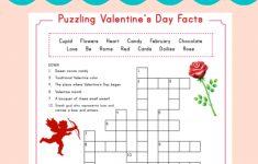 Printable Valentine Crossword Puzzle