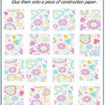Valentine Day Puzzles   Printable Cut & Paste Puzzles | Valentine   Printable Valentine Puzzle