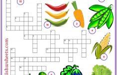 Printable Crossword Esl
