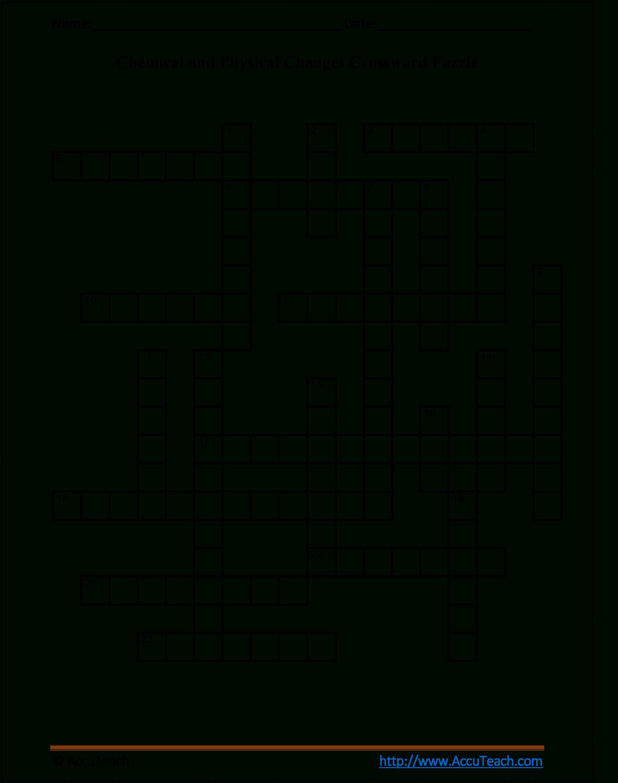 Verb Tense Crossword Puzzle Worksheet - Printable Crossword Puzzles 5Th Grade