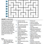 Wall Street Journal Crossword Contest   Journal Foto And Wallpaper   Wall Street Journal Printable Crossword Puzzles