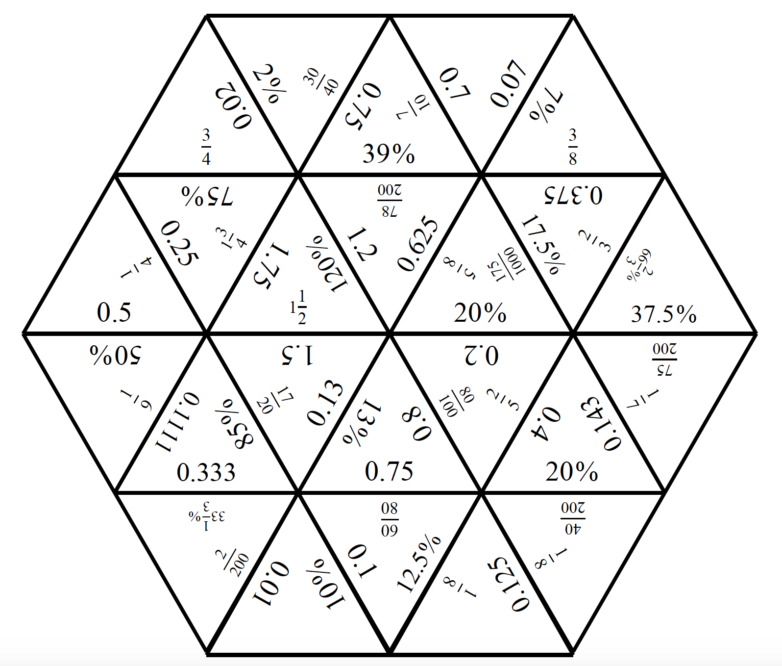 We Came Across These Puzzles A Few Years Ago. The Premise Is That - Printable Tarsia Puzzles