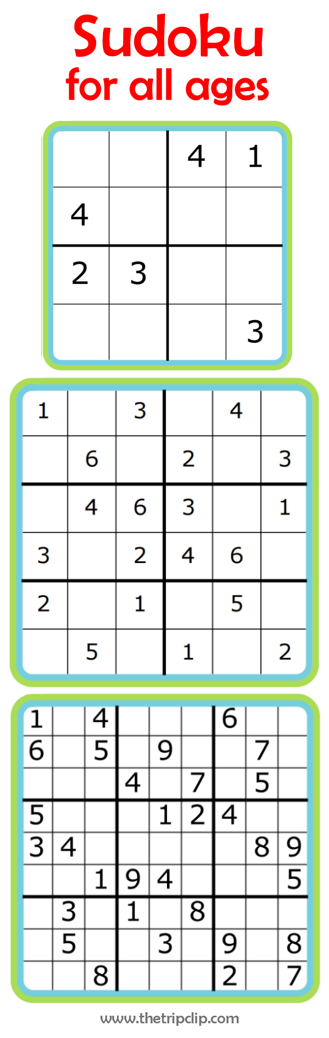 Week 7: Learning Math With Sudoku | 52 Weeks Of Learning With The - Printable Sudoku Puzzles Easy #4