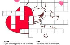 Printable Valentine Crossword Puzzles
