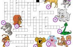 Animal Crossword Puzzle Printable