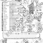 Winter Puzzle And Fallen Phrases Weather   Esl Worksheetim Lety   Printable Winter Puzzle