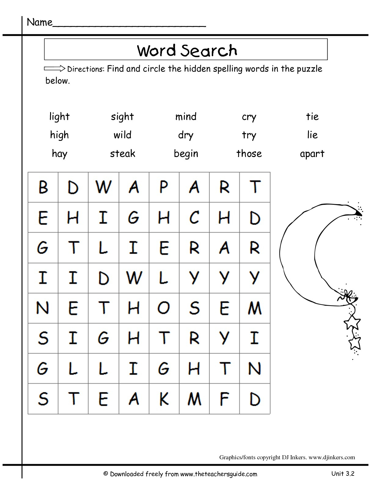 Wonders Second Grade Unit Three Week Two Printouts - Printable Compound Word Crossword Puzzle