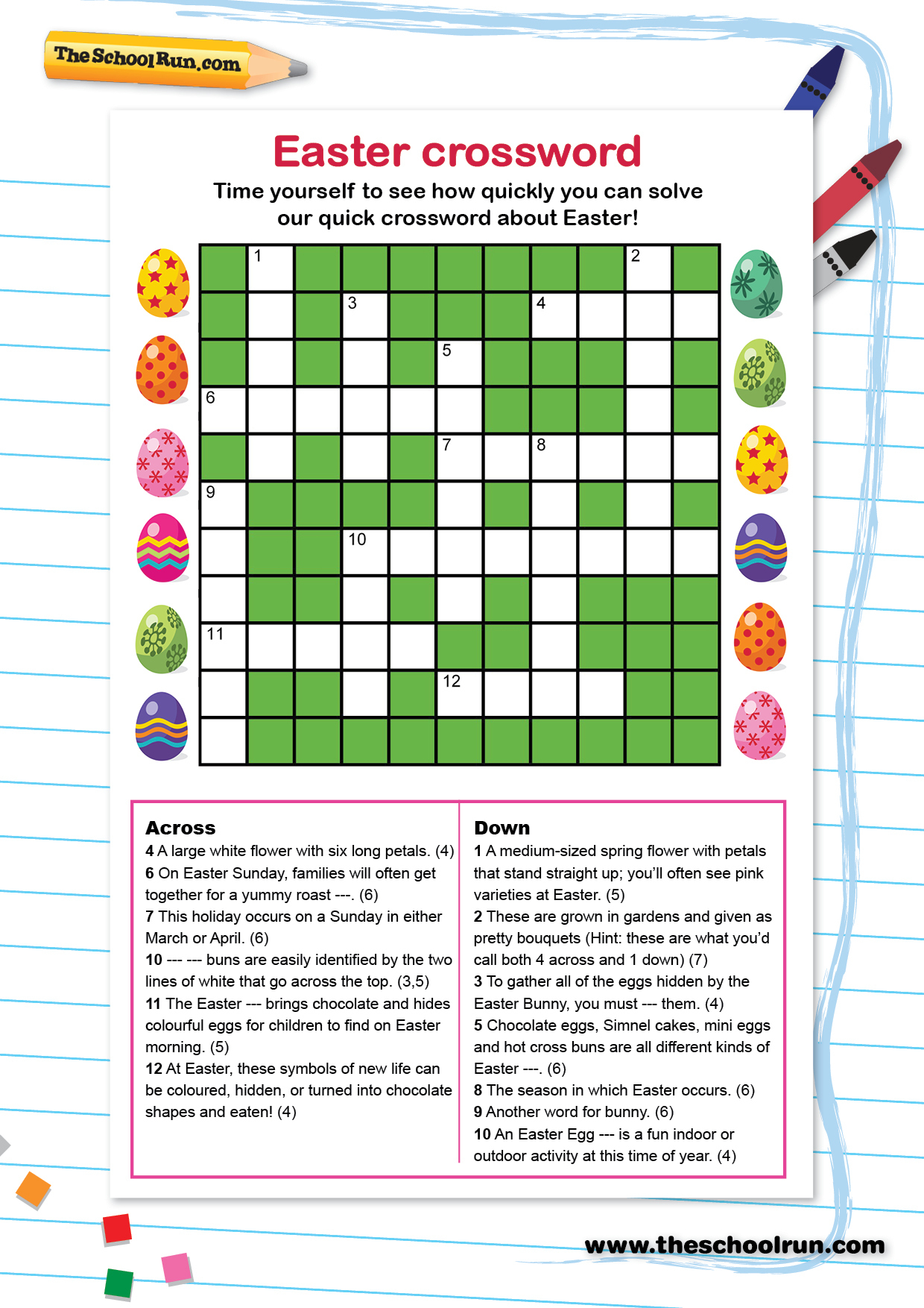 Word Puzzles For Primary School Children | Theschoolrun - Printable Crossword Puzzle For Primary School