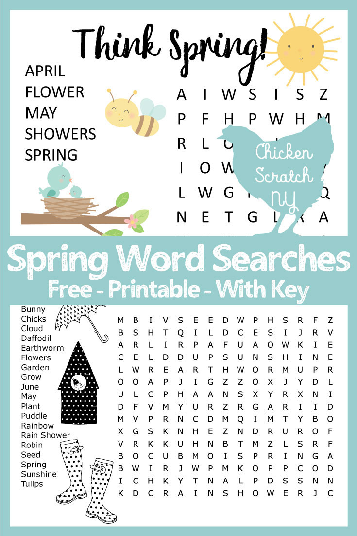 Word Search & Crossword Puzzles & Mazes - Free Printable Word Searches And Crossword Puzzles
