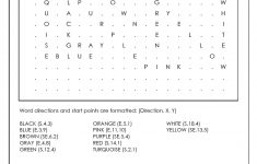 Word Search Puzzle Generator – Crossword Puzzle Generator Free Printable