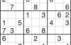 5 Star Sudoku Puzzles Printable