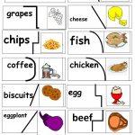Yummy Food Puzzle Worksheet   Free Esl Printable Worksheets Made   Printable Food Puzzle