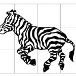 Zebra Puzzle For Kids | Zebra   Printable Zebra Puzzle