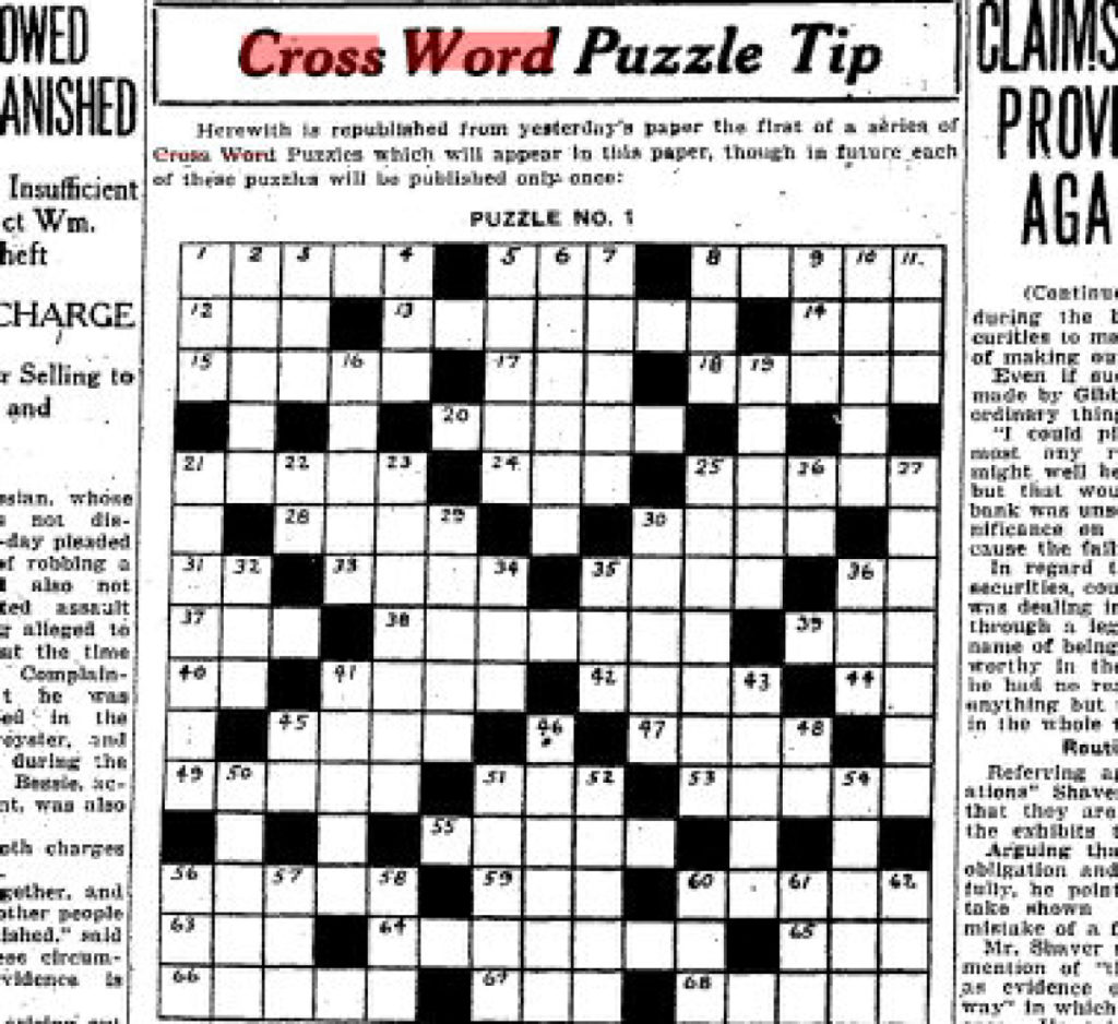 Can You Solve The Star s First Ever Crossword Puzzle From