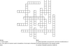 Pediatric Nuirsing Crossword To Print